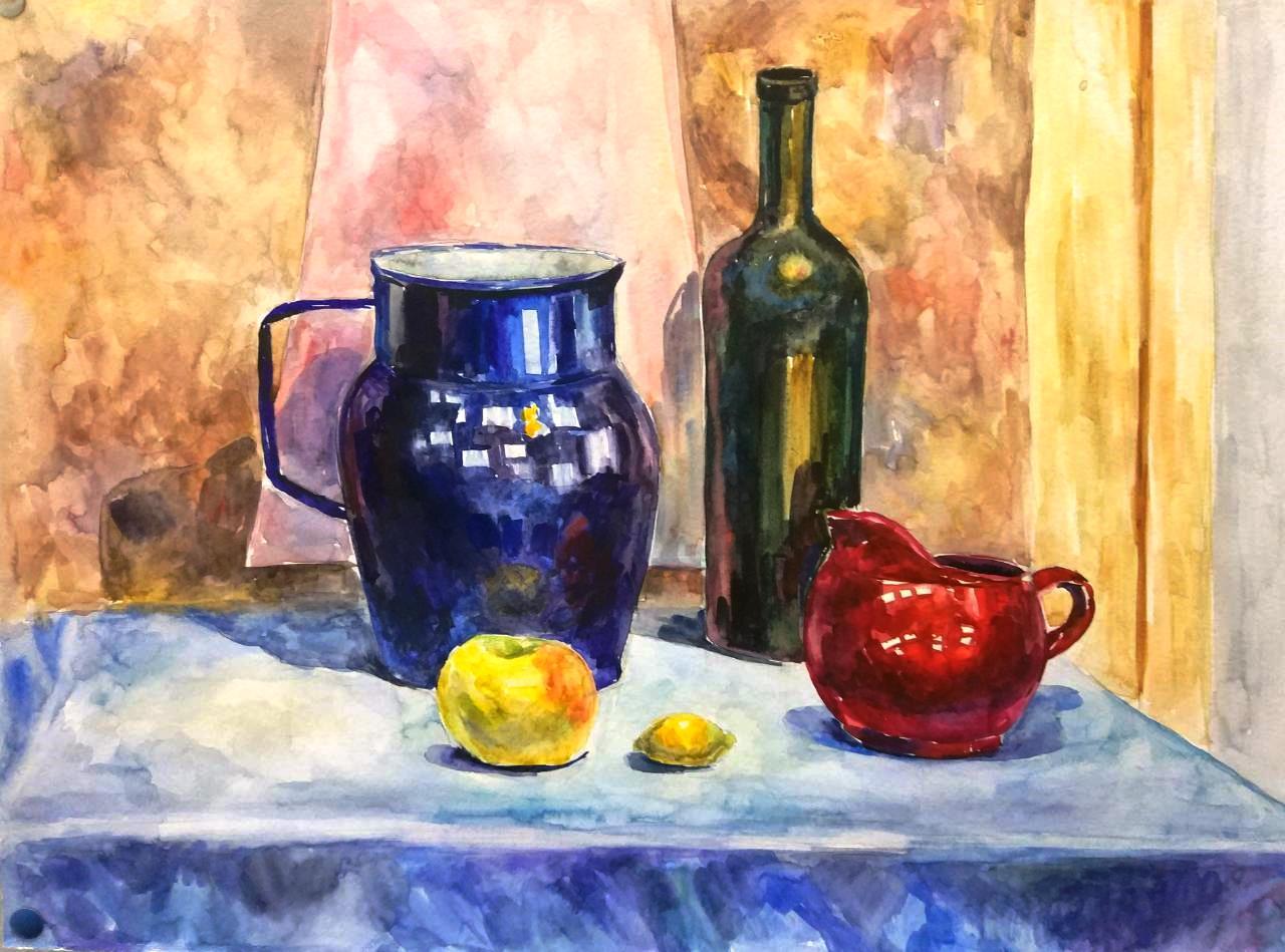 Живопись — это рисунок цветом